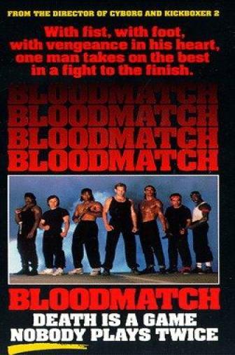 Random Movie Pick - Bloodmatch 1991 Poster