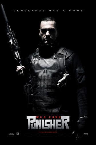 Random Movie Pick - Punisher: War Zone 2008 Poster