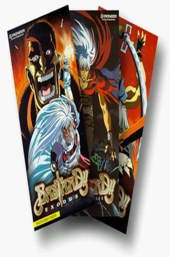 Random Movie Pick - Basutado!! Ankoku no hakaishin 1992 Poster