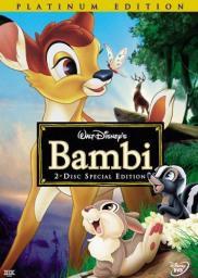 Random Movie Pick - Bambi 1942 Poster