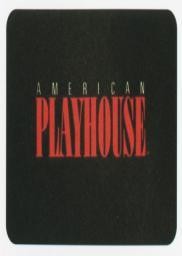 Random Movie Pick - American Playhouse 1981 Poster