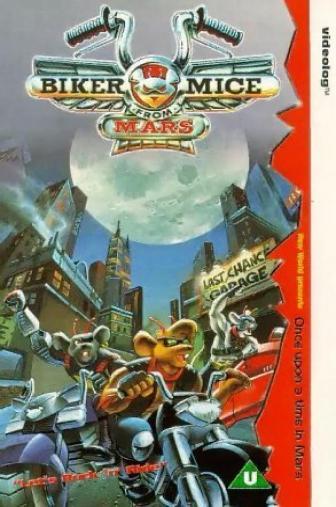 Random Movie Pick - Biker Mice from Mars 1993 Poster