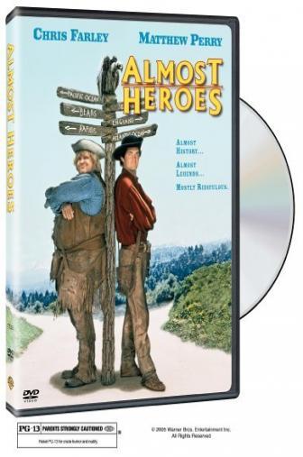 Random Movie Pick - Almost Heroes 1998 Poster
