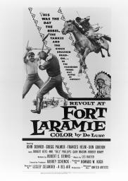 Random Movie Pick - Revolt at Fort Laramie 1957 Poster