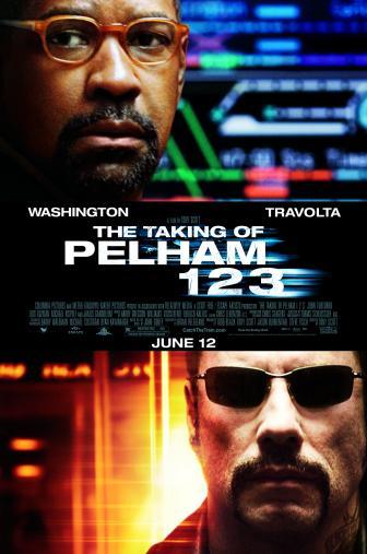 Random Movie Pick - The Taking of Pelham 1 2 3 2009 Poster