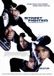 Random Movie Pick - Street Fighter: The Legend of Chun-Li 2009 Poster