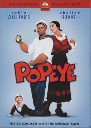 Random Movie Pick - Popeye 1980 Poster
