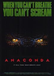 Random Movie Pick - Anaconda 1997 Poster