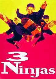 Random Movie Pick - 3 Ninjas 1992 Poster