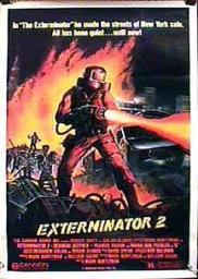 Random Movie Pick - Exterminator 2 1984 Poster