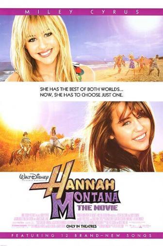 Random Movie Pick - Hannah Montana: The Movie 2009 Poster