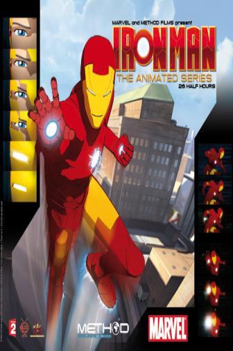 Random Movie Pick - Iron Man: Armored Adventures 2008 Poster