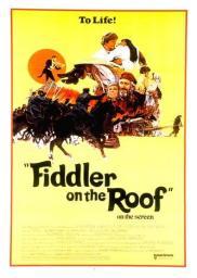 Random Movie Pick - Fiddler on the Roof 1971 Poster