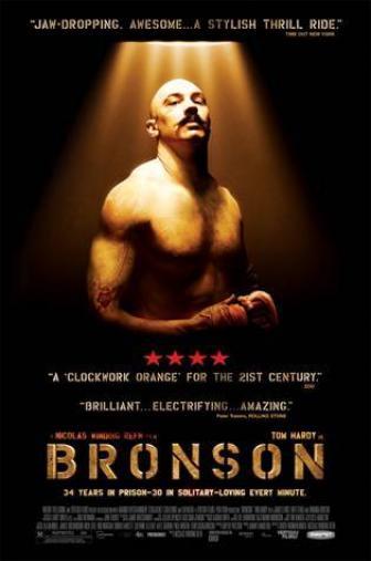 Random Movie Pick - Bronson 2008 Poster