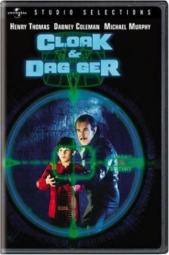 Random Movie Pick - Cloak & Dagger 1984 Poster