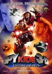 Random Movie Pick - Spy Kids 3-D: Game Over 2003 Poster