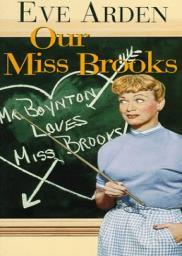 Random Movie Pick - Our Miss Brooks 1952 Poster