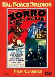 Random Movie Pick - Zorro Rides Again 1937 Poster