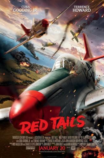 Random Movie Pick - Red Tails 2012 Poster