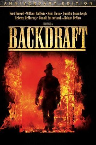 Random Movie Pick - Backdraft 1991 Poster
