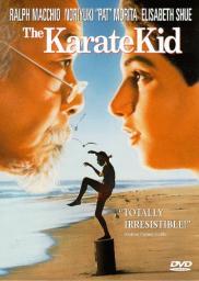 Random Movie Pick - The Karate Kid 1984 Poster