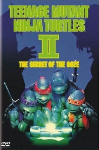Random Movie Pick - Teenage Mutant Ninja Turtles II: The Secret of the Ooze 1991 Poster