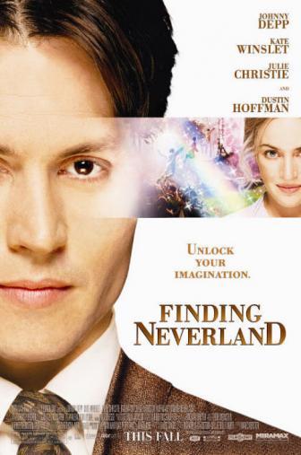 Random Movie Pick - Finding Neverland 2004 Poster