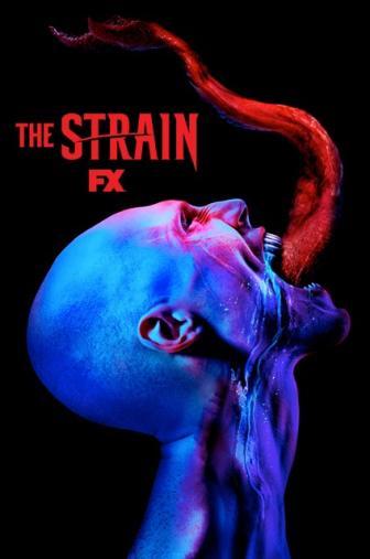 Random Movie Pick - The Strain 2014 Poster