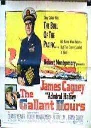 Random Movie Pick - The Gallant Hours 1960 Poster