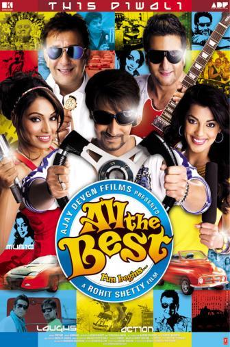 Random Movie Pick - All the Best: Fun Begins 2009 Poster