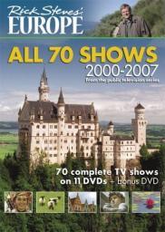 Random Movie Pick - Travels in Europe with Rick Steves 1991 Poster