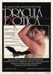 Random Movie Pick - Dracula Exotica 1980 Poster