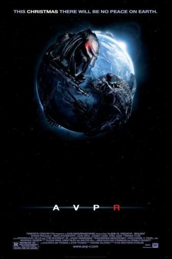Random Movie Pick - AVPR: Aliens vs Predator - Requiem 2007 Poster