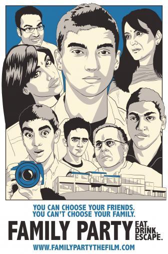 Random Movie Pick - Family Party 2015 Poster