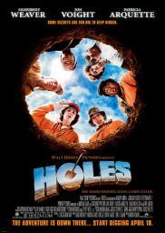 Random Movie Pick - Holes 2003 Poster