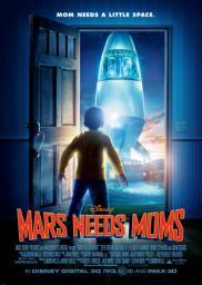 Random Movie Pick - Mars Needs Moms 2011 Poster
