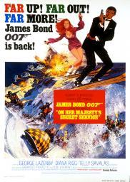 Random Movie Pick - On Her Majesty's Secret Service 1969 Poster
