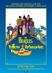 Random Movie Pick - Yellow Submarine 1968 Poster