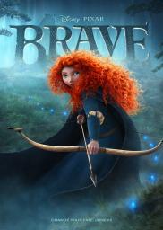 Random Movie Pick - Brave 2012 Poster