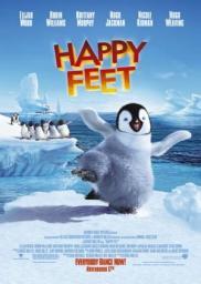 Random Movie Pick - Happy Feet 2006 Poster