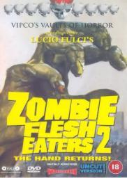 Random Movie Pick - Zombi 3 1988 Poster