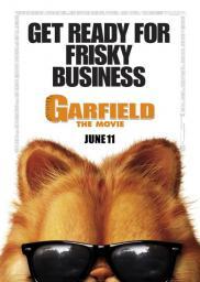 Random Movie Pick - Garfield 2004 Poster