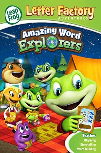 Random Movie Pick - LeapFrog Letter Factory Adventures: Amazing Word Explorers 2015 Poster