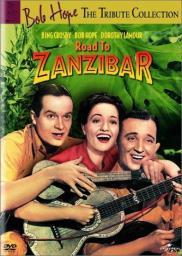 Random Movie Pick - Road to Zanzibar 1941 Poster