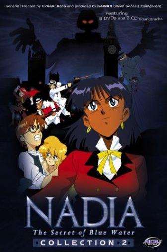 Random Movie Pick - Fushigi no umi no Nadia 1990 Poster