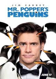 Random Movie Pick - Mr. Popper's Penguins 2011 Poster