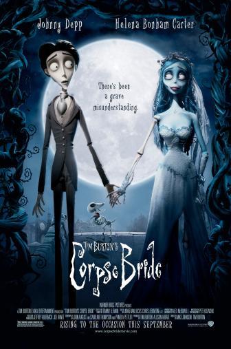 Random Movie Pick - Corpse Bride 2005 Poster
