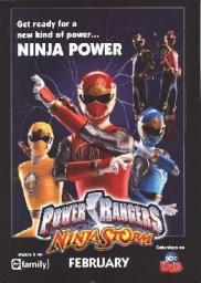 Random Movie Pick - Power Rangers Ninja Storm 2003 Poster