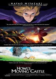 Random Movie Pick - Hauru no ugoku shiro 2004 Poster