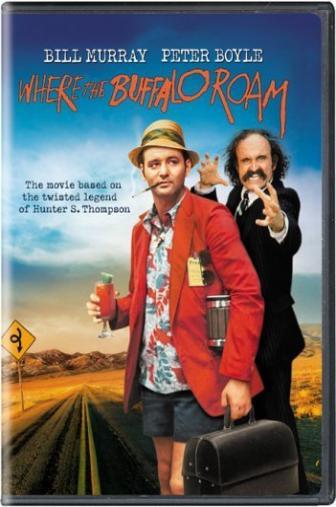 Random Movie Pick - Where the Buffalo Roam 1980 Poster